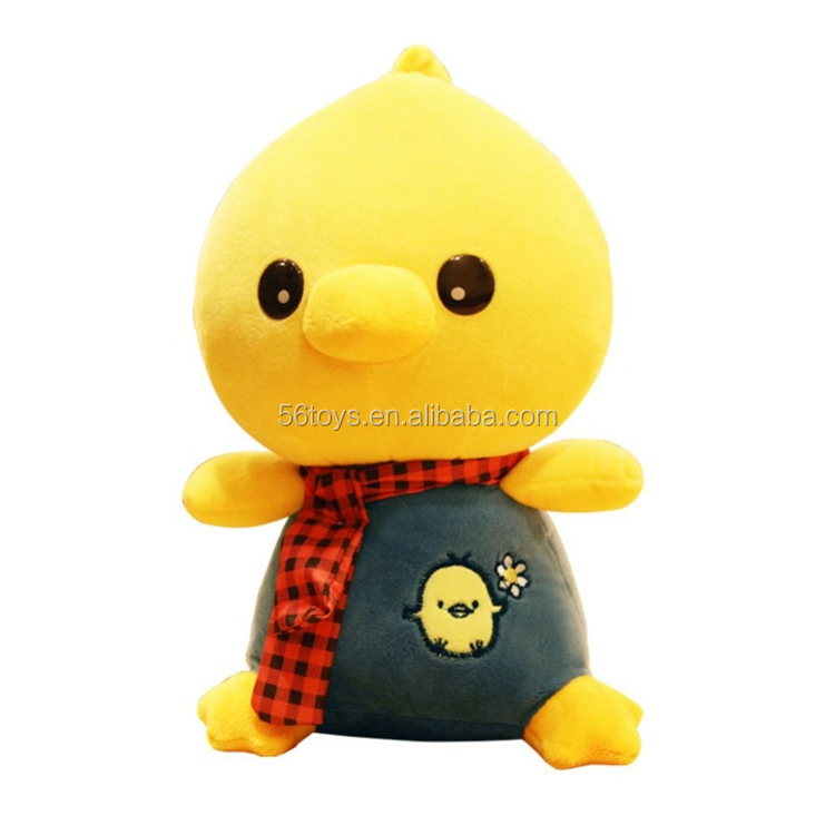 cheap popular cute mini plush chick small yellow emoji chicken stuffed toy
