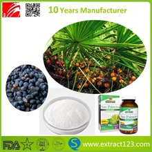 Fatty acid 25% 45% saw palmetto seeds extract