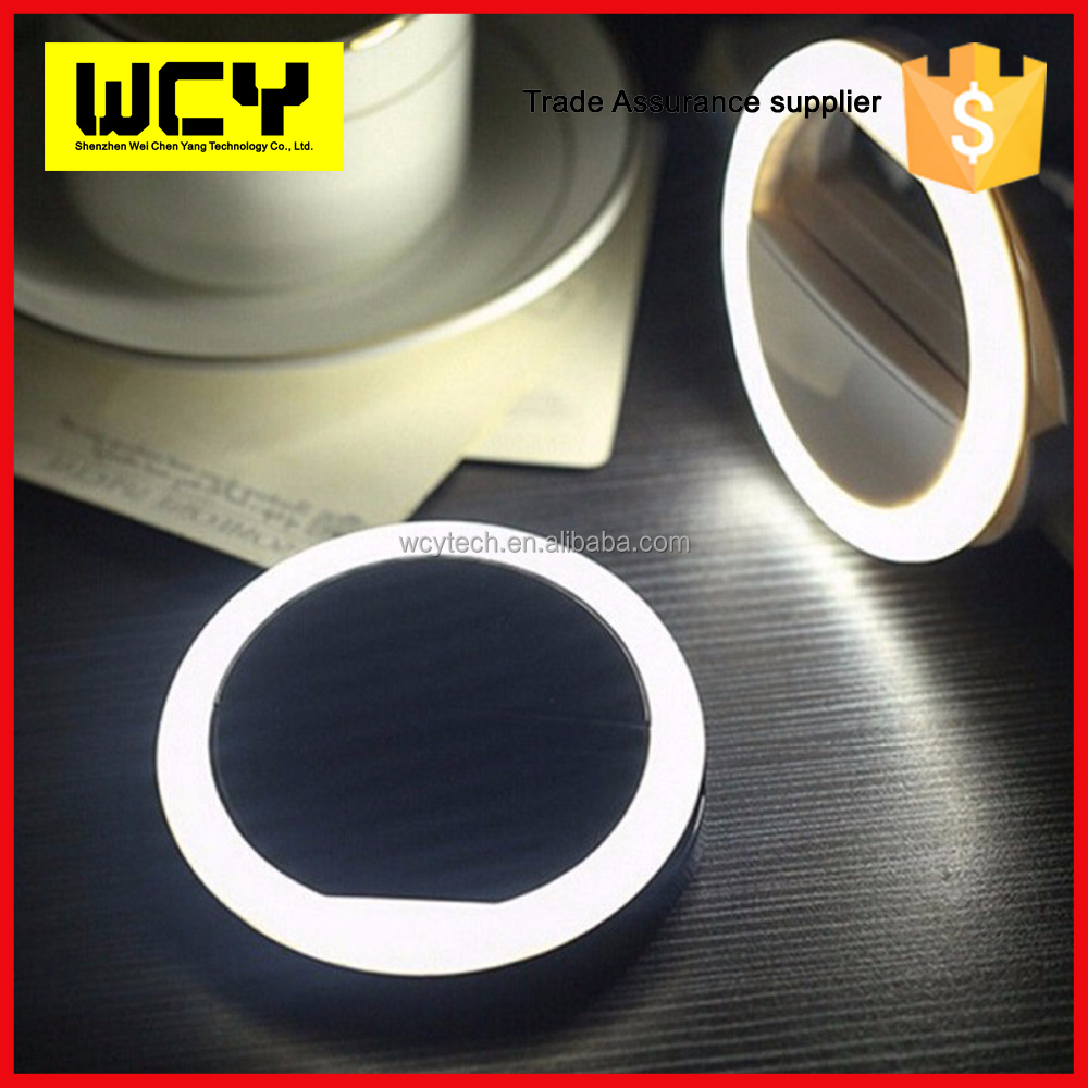 wholesale universal Circle Selfie Ring Light for iphone for ipad portable rechargable LED phone camera selfie ring light