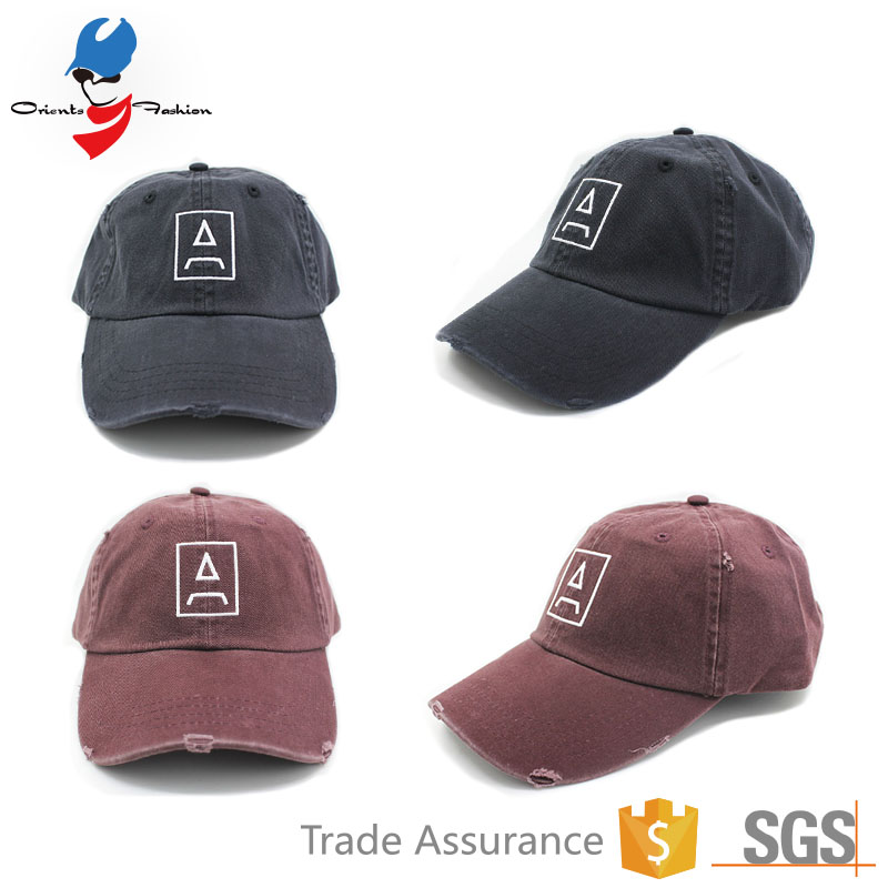 Customized Unstructured Dad Hat With Embroidery Patch 829e2cbf2e4