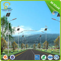 Rechargeable Professional battery operated led solar street lighting