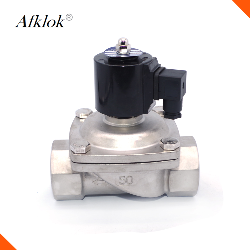 2W high temperature low cost 120degree 1inch 25mm ptfe solenoid valve