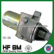 TB50 Starter Motor motorcycle, motorcycle starting motor OEM Quality Factory Sell Directly