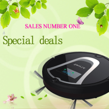 Newest Promotional cheap robot vacuum cleaner with dust case