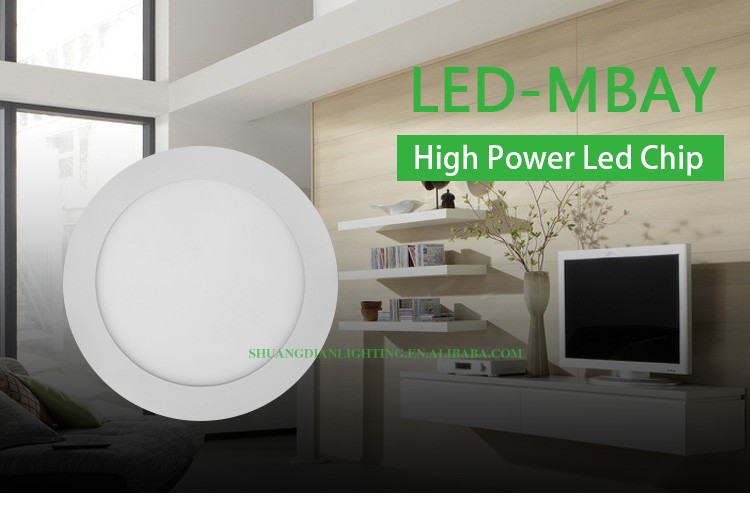 2015 hot selling recessed led panel lamp/12w round led panel lamp/smd 2835 led panel lamp round led panel lamp