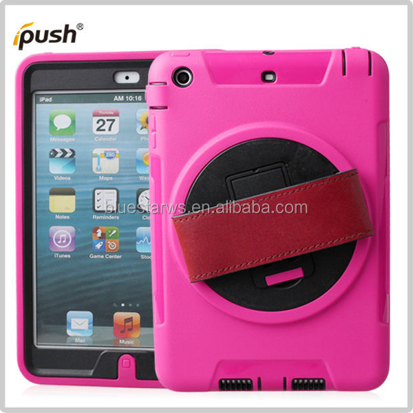 Hard case with 360 degree holder for ipad mini/mini 2 cover