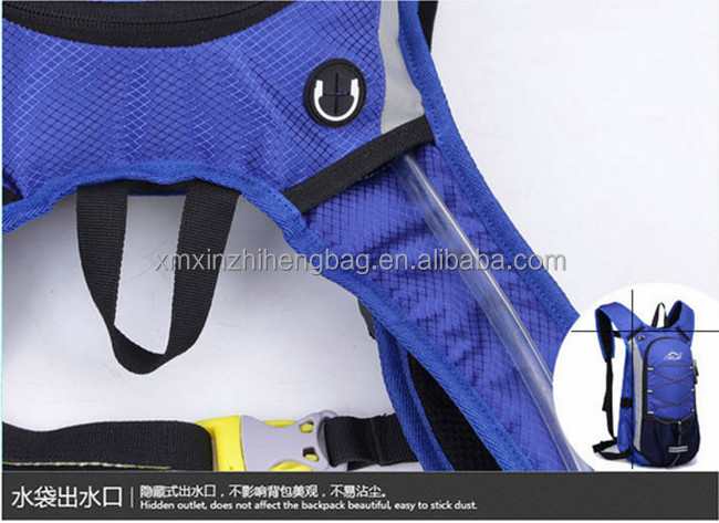 Bicycle Backpack For Traveling With hydration bladder water bag