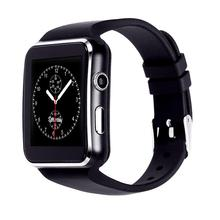 2019 <strong>Smart</strong> <strong>Watch</strong> X6 Mens Curved Screen Android Smartwatch For IOS/ Android Phone With Camera TF SIM Card slot