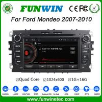 Funwin Android 4.4.4 car dvd palyer touch screen gps car navigation dvd for ford mondeo 2007-2010 Wifi&3G