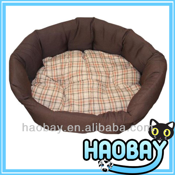 pet supply Lattice Round Stylish Cozy Craft Dog Bed