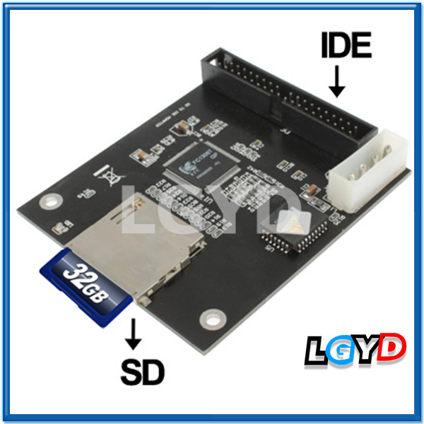 SD Card to IDE Adapter