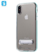 For iPhone x TPU Kickstand Clear Back Cover case ,Shenzhen Sinofly electronic