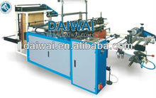 Heat sealing cool cutting plastic bag making machine price