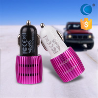 Dual high quality mobile phone 2 in 1 for battery car charger/usb start 12v car battery charger