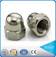 China manufacturer fine workmanship push cap nut