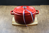 QULENO cast iron enamel cookware pots cast iron pot