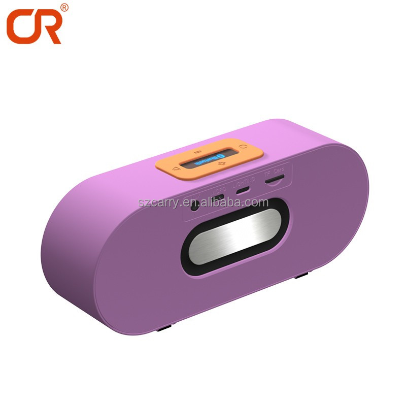 2017 New Arrival Wireless Charging Multimedia Speaker With TF Card Slot