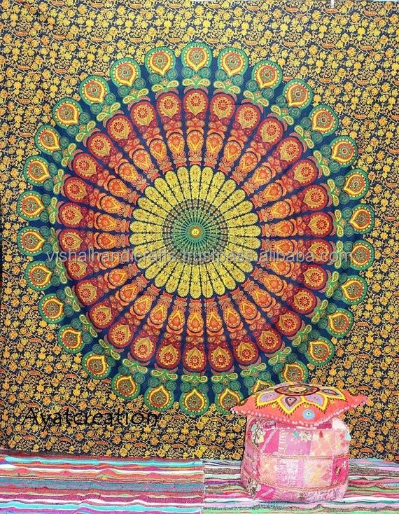 Mandala Hippie Tapestry Wall Hanging,Mandala Tapestry,Mandala Wall Art Mandala Wall Hanging Indian Tapestries