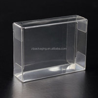 PVC Clear Plastic Soap Packaging Boxes