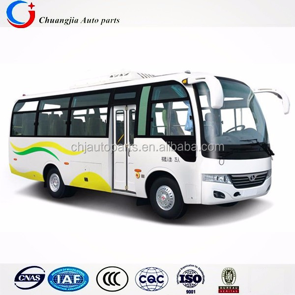 Front Engine Euro2 Emission 24-28seats Coach Bus Used in Africa
