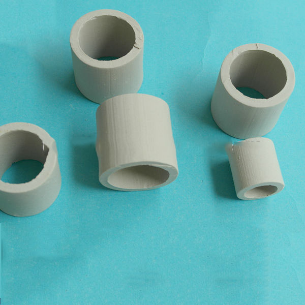 25mm 50mm Ceramic Raschig Ring  Al2O3 17-22%  column adosorption scrubber tower packings