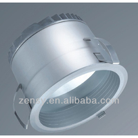 cob led down lights fixtures aluminum led down light housing led grid down light