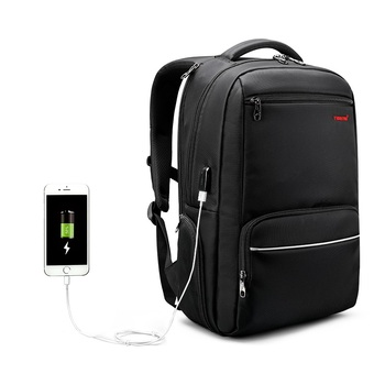 2018 new arrival Tigernu anti theft backpack usb backpack Nylon laptop backpack