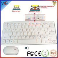 2.4g slim usb delux wireless keyboard and mouse combo