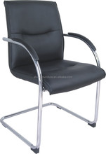 cheap PU leather staff chair/conference chair/visitor chairs with back