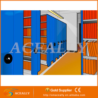 Low Cost Steel Storage Mobile Shelving System track shelving system customized movable storage shelves