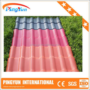 ASA Coated PVC sheet/Easy installation/plastic corrugated Roof Tile