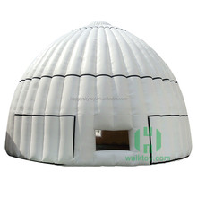 New products colorful outdoor camping advertising equipment wedding or party hard shell roof inflatable dome tent