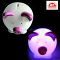 ICTI Factory Toys Pig with Led Light