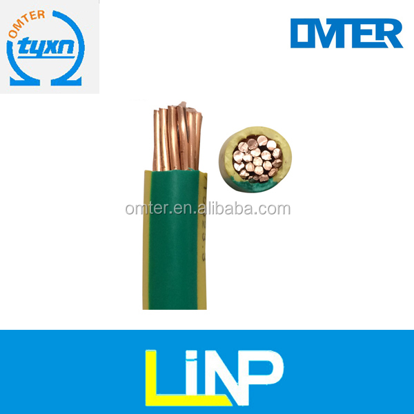3 cores PVC insulated and PVC sheathed flat electric wire