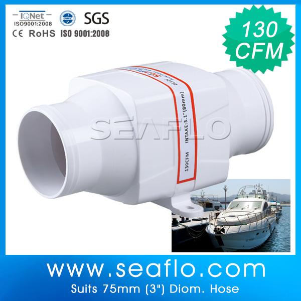 12 Volt Dc Duct Fan : Seaflo v duct fans buy inline fan