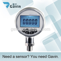 High acuracy air digital pressure gauge