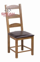 oak furniture high back dining room wooden table chair