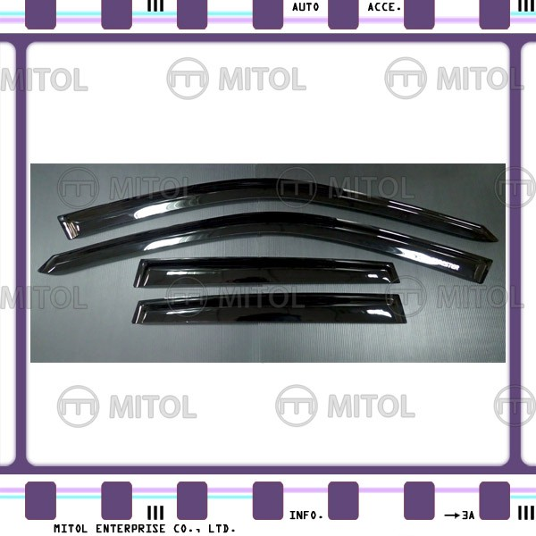 For Subaru FORESTER SJ 13-on Windows Visor, Window Deflectors