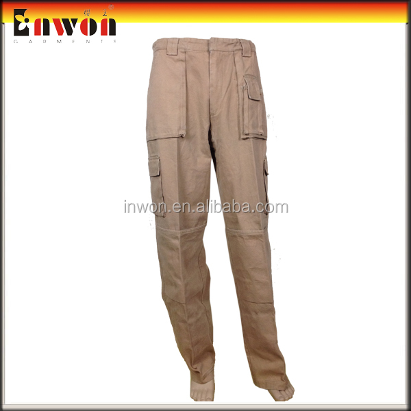 Professional worker trousers uniform khaki work pants