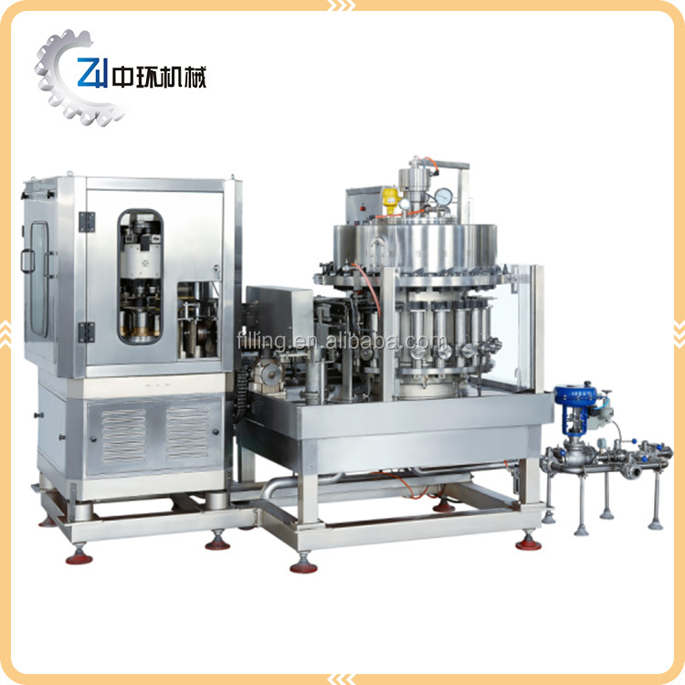 Top Sale Guaranteed Quality Beer Can Filling And Sealing Machine