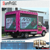 Led Mobile Advertising Trucks p10 led module mobile truck video, roadshow truck