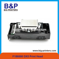 Original and 100% New galaxy ud-181la eco printer spare parts f186000 dx5 unlocked print head for epson