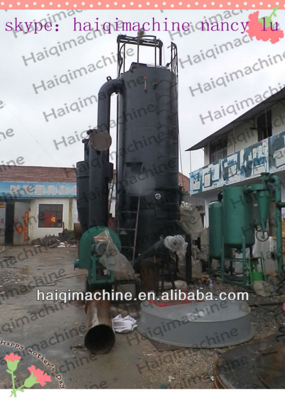 300kw fixed bed down draft gasifier used for generation power plant environmental