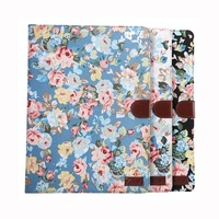 Hot Selling Floral Flower Wallet Leather Case for iPad Pro With Sleeping Function
