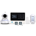 2018 NEW 433/868MHz security home alarm system wireless/wired smart home alarm system