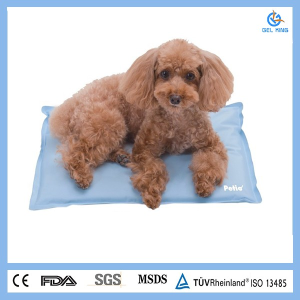 Hot new products for 2016 waterproof soft pet gel cooling pad, gel dog and cat pet mat