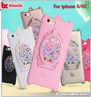 Gorgeous and mulit color custom made silicone phone case for iphone