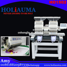 China Top quality used Brother 600 commercial computerized two head embroidery machine with multiple sewing functions