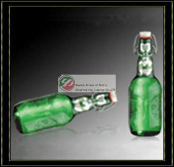 EU/FDA Certificate Glass Water Bottle Capsule
