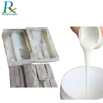 china good quality liquid silicone rubber for artificial culture stone mold making no oil